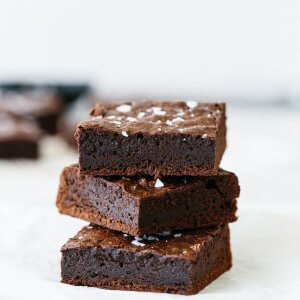 Paleo brownies are rich, chocolatey and fudgy brownies that are an easy dessert recipe. You'll never know that they're gluten-free and dairy-free because they're so decadent and delicious.