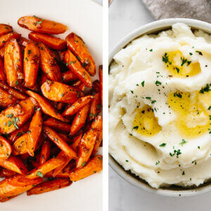 Healthy Thanksgiving side dishes.