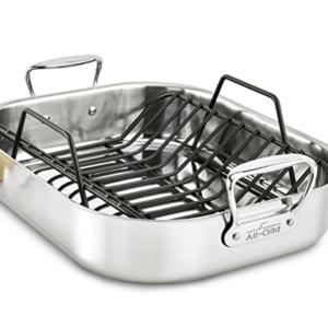 All Clad roasting pan.