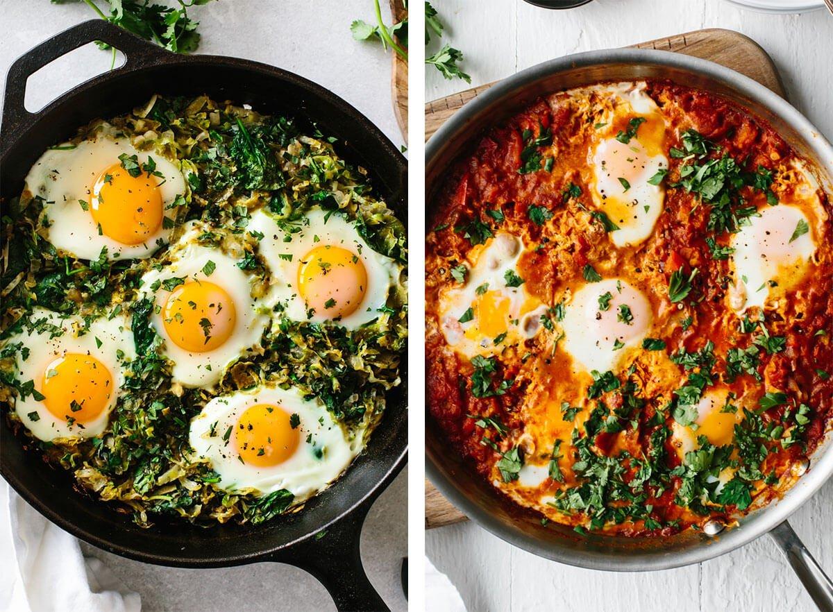 Best breakfast ideas with shakshuka.