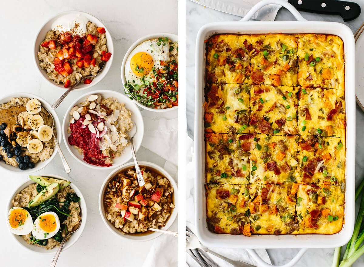 Meal prep recipes for breakfast.
