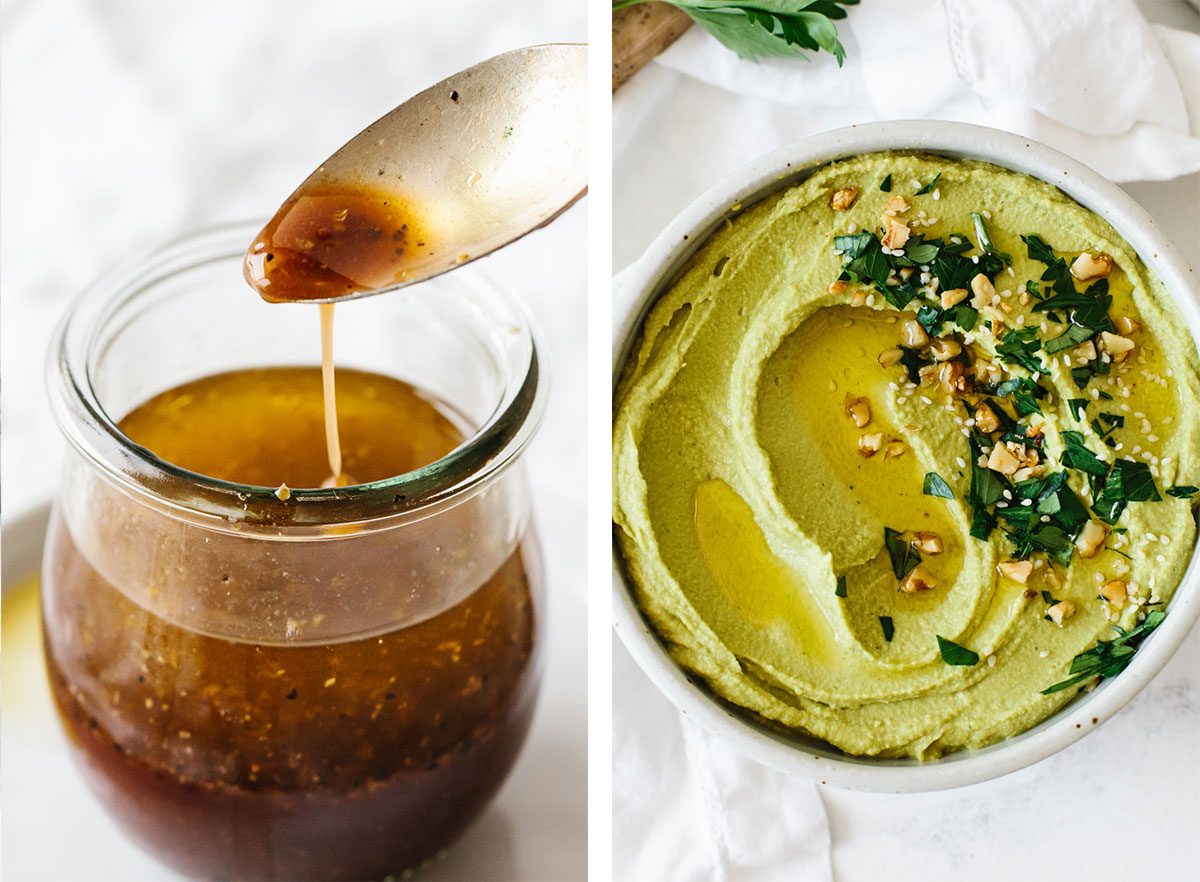 Best dressings and dips for meal prep recipes.