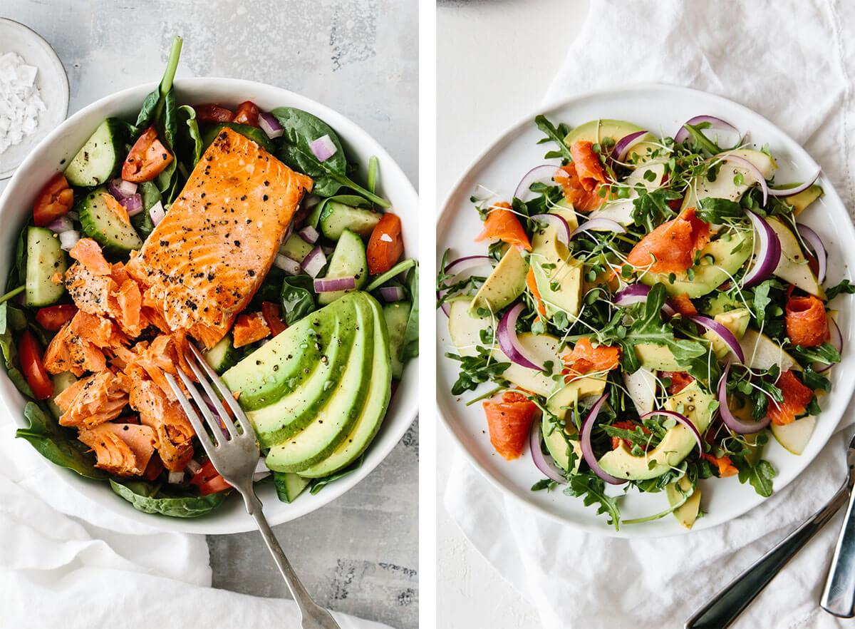 Easy salmon salad recipes
