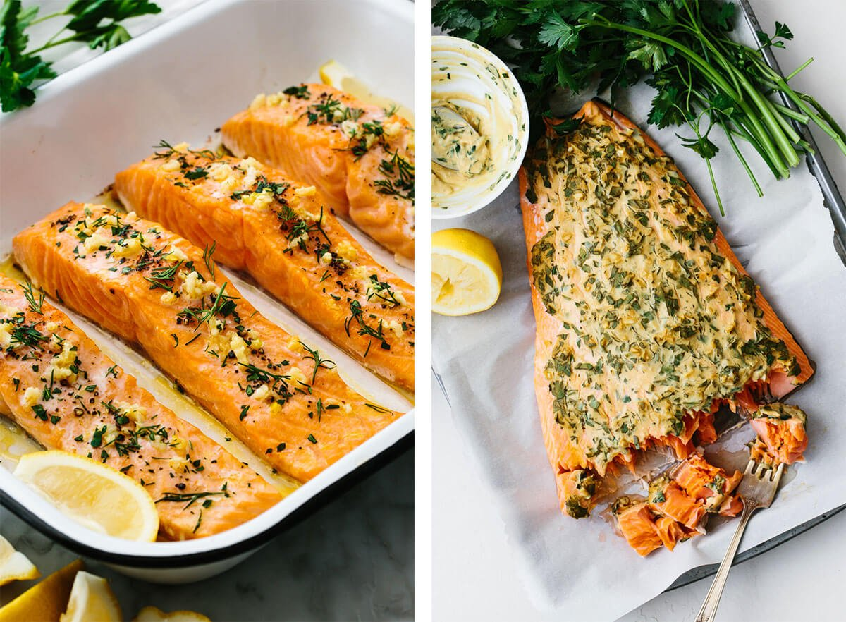 Best baked salmon recipes.