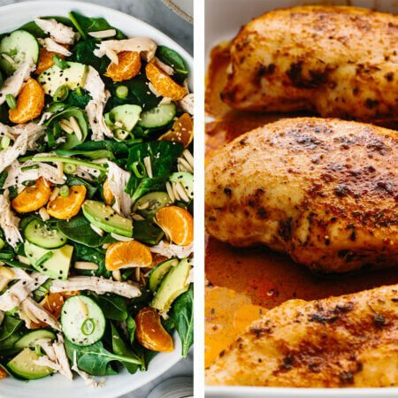 Best chicken breast recipes with chicken salad and baked chicken